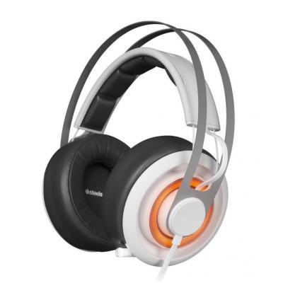 Steelseries headset: Siberia Elite Prism - Wit
