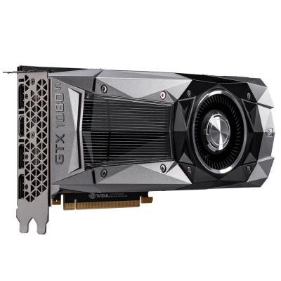 Gigabyte videokaart: GeForce GTX 1080 Ti Founders Edition - Zwart, Grijs
