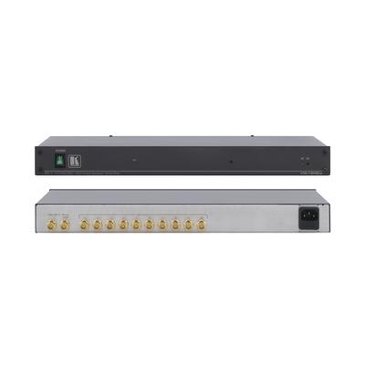 Kramer Electronics Kramer VM-10HDxl Distr. Versterker Video switch - Zwart, Zilver