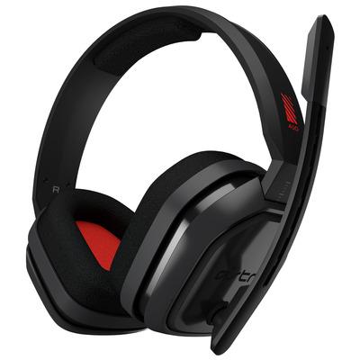 Logitech A10 Headset - Grijs, Rood
