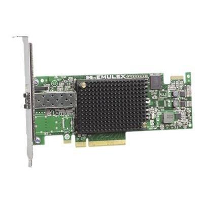 Dell netwerkkaart: Emulex LPe-16.000 Fibre Channel Host Bus Adapter - Groen