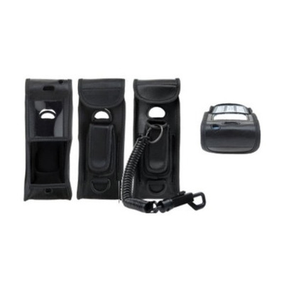 Spectralink Black Vinyl Case f/ Polycom 8440, Belt Clip Mobile phone case - Zwart