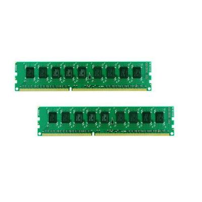 Synology 16 GB, 8 x 2 GB, DDR3-1600, ECC, 240 pin DIMM, CL=11, 1.5V RAM-geheugen - Groen