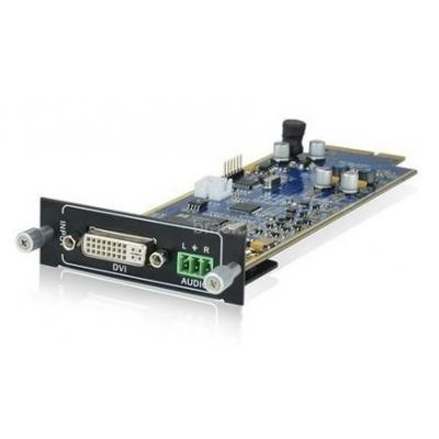PTN-Electronics Seamless DVI + audio inputkaart Interfaceadapter - Zwart