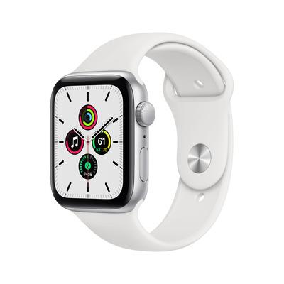 Apple Watch SE 44mm 32GB aluminium White Silver Smartwatch