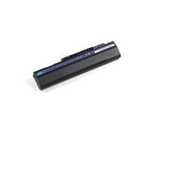Acer notebook reserve-onderdeel: 6 Cell, 5200 mAh, Li-Ion - Zwart