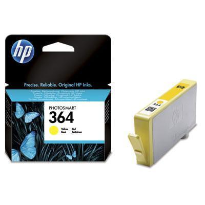 HP inktcartridge: 364 originele gele inktcartridge - Geel