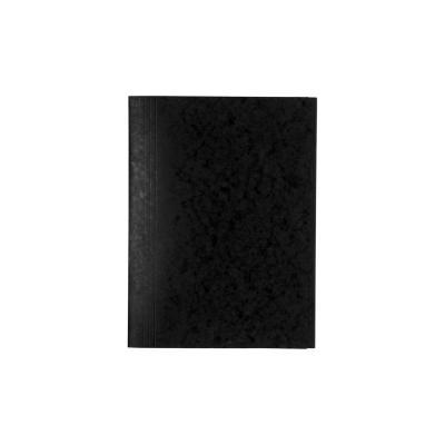 Exacompta StofklepNature Future A4, 400 g/m², zwart (verpakking 25 stuks) Map