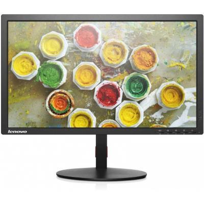 Lenovo monitor: ThinkVision T2324p - Zwart