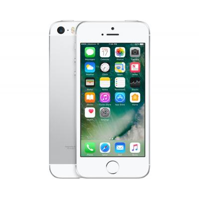 2nd by renewd smartphone: iPhone SE - Zilver 16GB (Refurbished ZG)