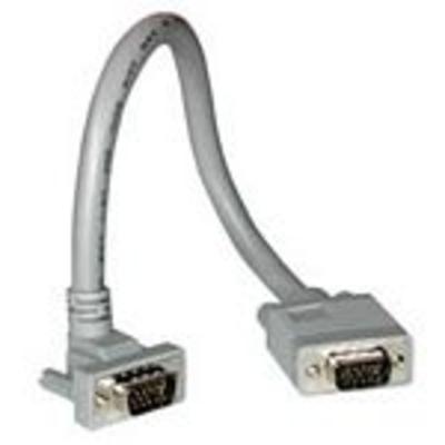 C2G 3m Monitor HD15 M/F cable VGA kabel  - Grijs