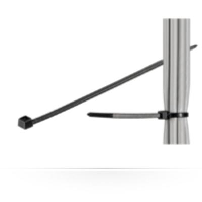 Microconnect CABLETIE6 Kabelbinder - Zwart