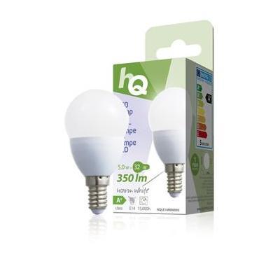 Hq led lamp: LED lamp mini globe E14 5W 350lm 2700K