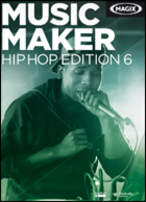 Magix audio software: Music Maker Hip Hop Edition 6 (download versie)