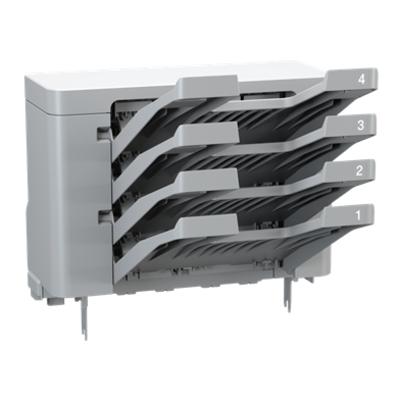Brother Mailbox met 4 uitvoerunits van 100 vel Printing equipment spare part - Grijs