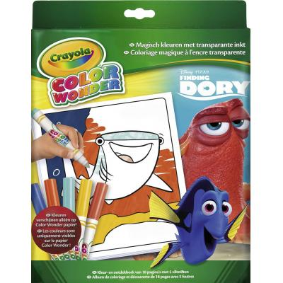 Crayola kleurplaat en boek: Color Wonder - Box set Finding  Dory