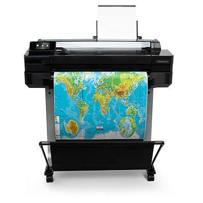 Hp grootformaat printer: Designjet T520 24-inch ePrinter