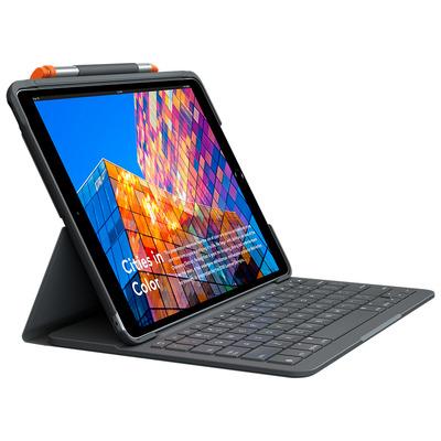 Logitech Slim Folio For iPad Air (3rd gen) - QWERTY Mobile device keyboard - Grafiet