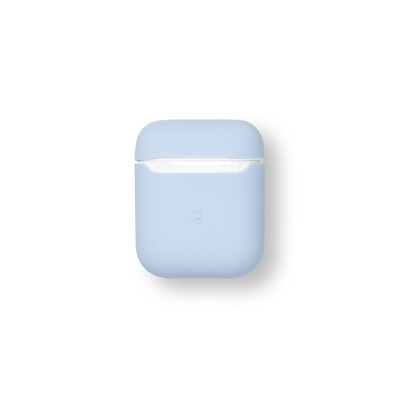 ESTUFF AirPods Silicone Case Lilac Koptelefoon accessoire - Blauw