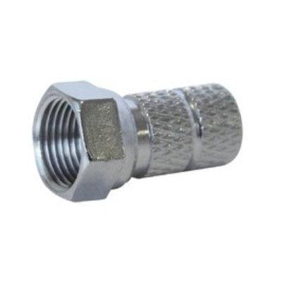 Maximum F-Connector for 5.6 mm Cable (Twist-on for type N37) 100pcs Coaxconnector