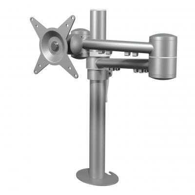 Dataflex monitorarm: Viewmate monitorarm - bureau 662 - Zilver