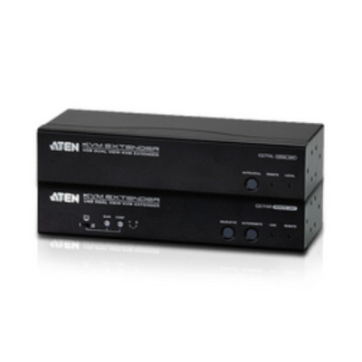 Aten Dual View Console extender - Zwart