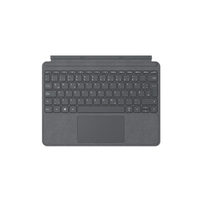 Microsoft Surface Go Type Cover - QWERTZ Mobile device keyboard - Platina