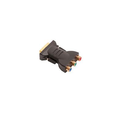 Datapath Adapter, DVI to Component Kabel adapter - Zwart