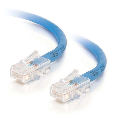 C2G 3m Cat5e Non-Booted Unshielded (UTP) netwerkpatchkabel - blauw Netwerkkabel