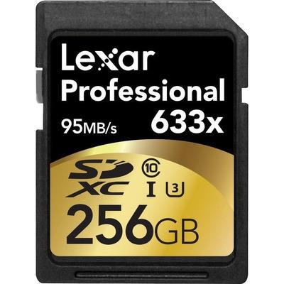 Lexar LSD256CBEU633 Flashgeheugen - Zwart