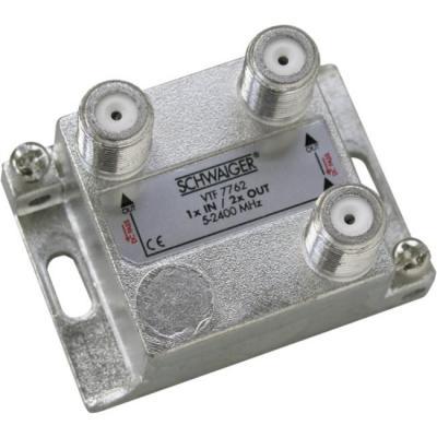 Schwaiger VTF7762531 kabel splitter of combiner