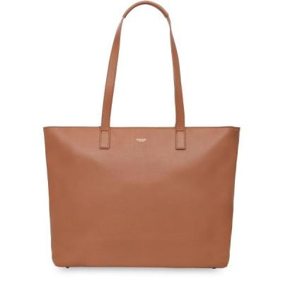 Knomo vrouwen-handtas: Maddox Zip Top Tote 15 Caramel - Bruin