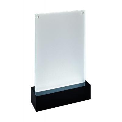 Sigel LED, 148 x 210 mm, Acrylic, 2 x 1.5 V AA, black