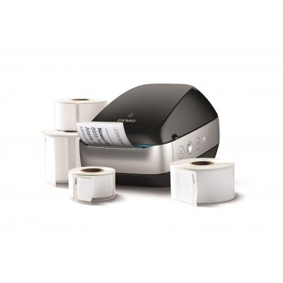 DYMO labelprinter: LabelWriter bundel met 4 extra labels - Zwart