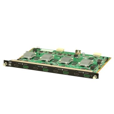 Aten VM8814 Video switch - Groen, Grijs