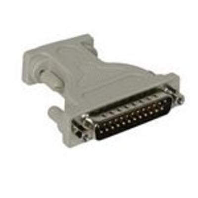 C2G DB9/DB25 Adapter Kabel adapter - Grijs