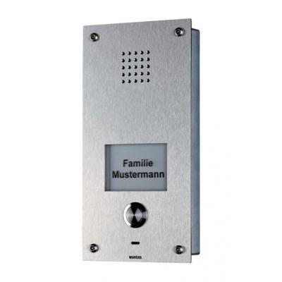 Wantec deurintercom installatie: Monolith S a/b - Roestvrijstaal