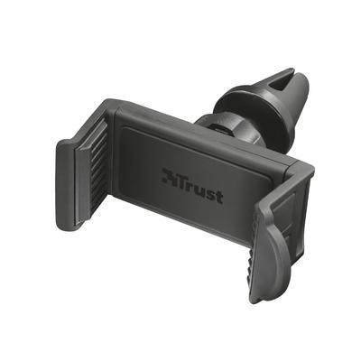 Trust Telefoonvoor auto | Ventilatie | Universeel | Smartphone tot 6 inch Houder - Zwart