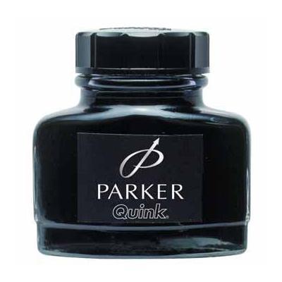 Parker inkt: FLES INKT BLAUW/ZWART
