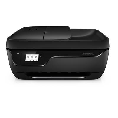 Hp multifunctional: OfficeJet 3833 - Zwart, Cyaan, Magenta, Geel