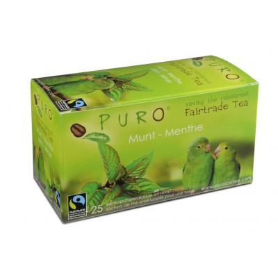 Puro thee: Fairtrade Green Mint