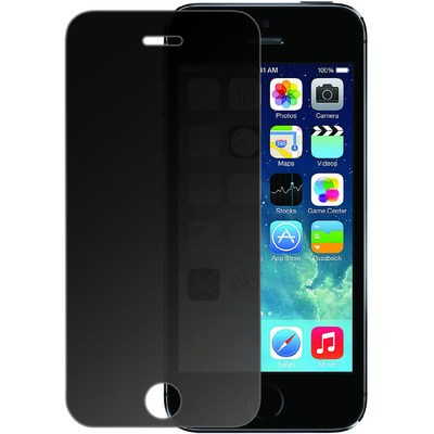 Azuri Tempered Glass - Privacy - voor Apple iPhone 5/5S/SE Screen protector - Transparant
