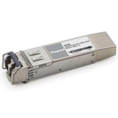 C2G JD092B Compatible 10GBase-SR MMF SFP+ Transceiver Module Netwerk tranceiver module - Zilver