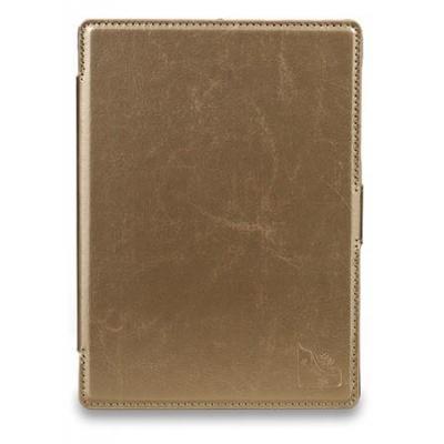 Gecko e-book reader case: Waterproof Slimfit Cover f/ Kobo Aura H2O, Gold - Goud