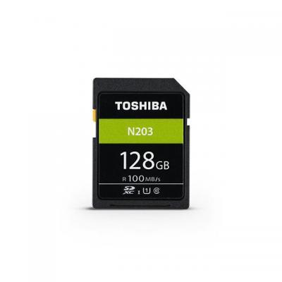 Toshiba SD Entry 128GB Flashgeheugen - Zwart