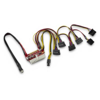 Inter-Tech 88882190 Power supply unit - Zwart
