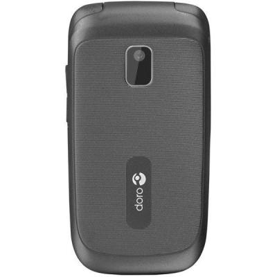 Doro mobiele telefoon: PhoneEasy PhoneEasy® 612 Zwart - Zwart, Wit