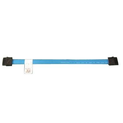 Dell ATA kabel: SATA cable - 7 pin SATA to 7 pin SATA - for PowerEdge T620, T630 - Zwart, Blauw