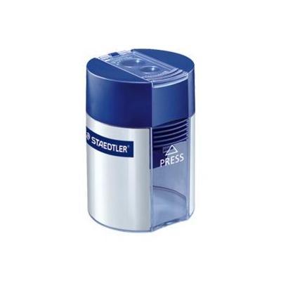 Staedtler potloodslijper: Double-hole tub sharpener - Blauw, Zilver