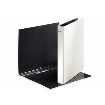 Leitz ringband: WOW Ring binder - pearl white - Wit